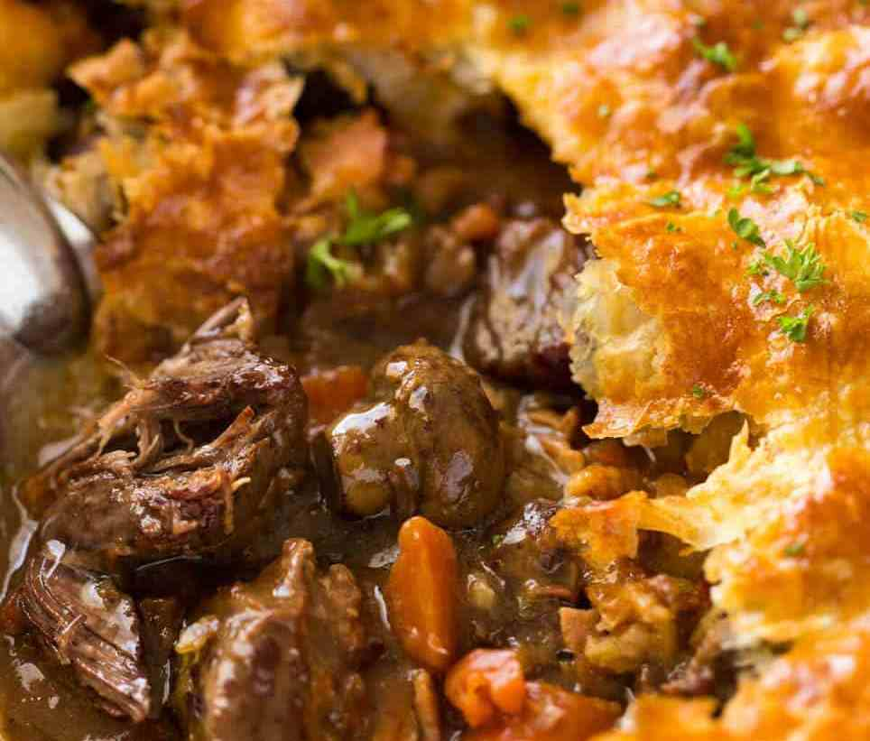 Beef & Mushroom Pie