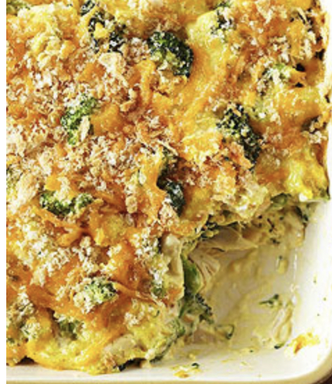 Chicken & Broccoli Crumble