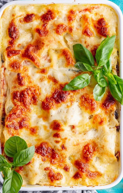 Roast Vegetable Lasagne