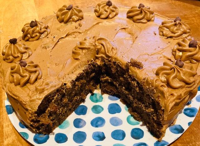 Coffee & Tia Maria Cake